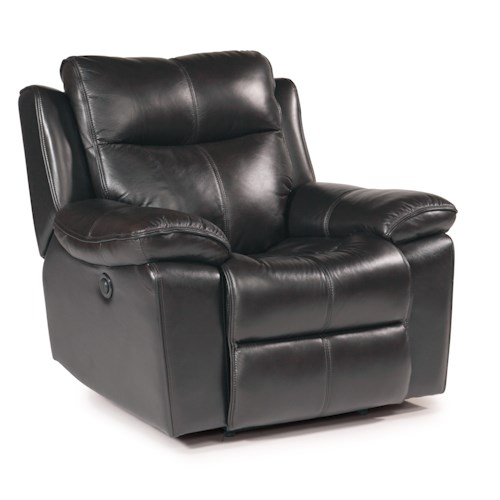 Flexsteel Latitudes - Julio Power Recliner with Bustle Back