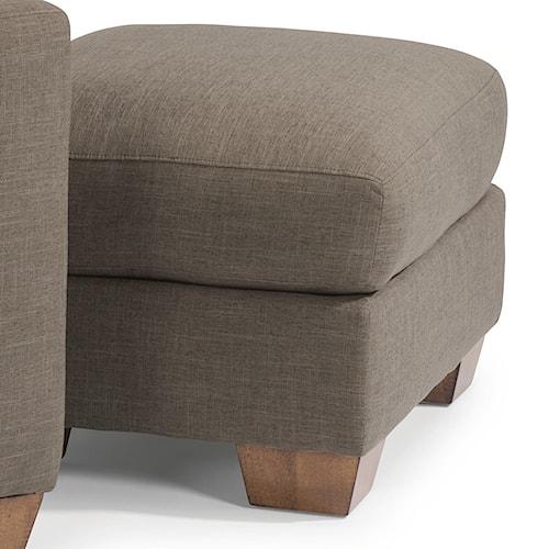 Flexsteel kennicot ottoman pilgrim furniture city ottoman for Furniture 0 percent financing