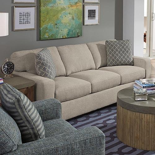 Flexsteel Kennicot Contemporary Casual Sofa