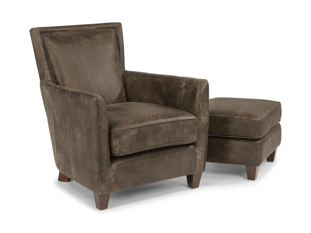 Flexsteel Latitudes - KingstonChair and Ottoman Set
