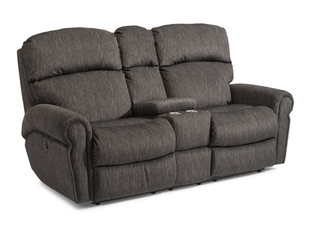 Flexsteel SaylorPower Reclining Love Seat