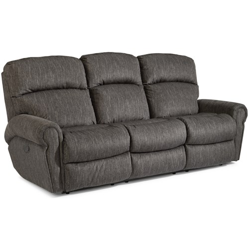 Flexsteel Langston Casual Reclining Sofa