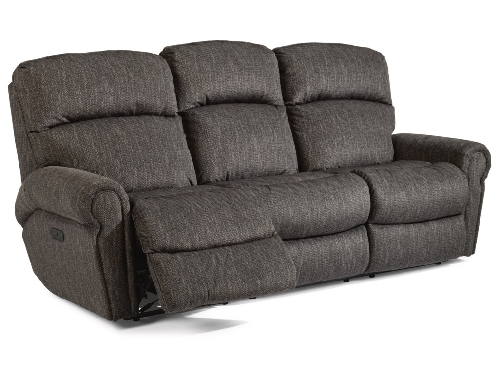 Flexsteel LangstonPower Reclining Sofa w/ Power Headrests