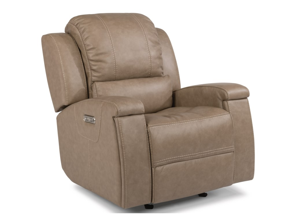 Flexsteel Latitudes - AsherPower Gliding Recliner with Power Headrest