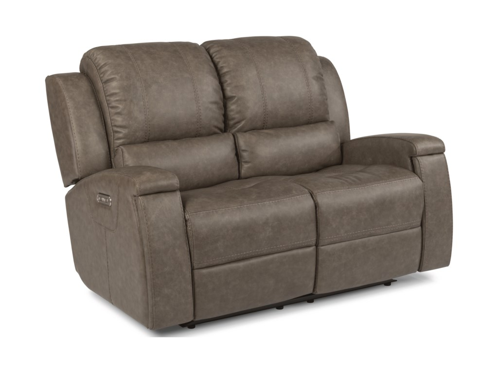 Flexsteel Latitudes - AsherPower Reclining Love Seat