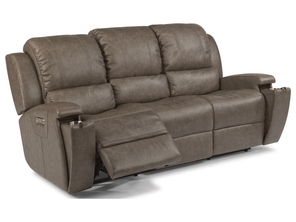 Flexsteel Latitudes Asher 1692 62ph Contemporary Power Reclining