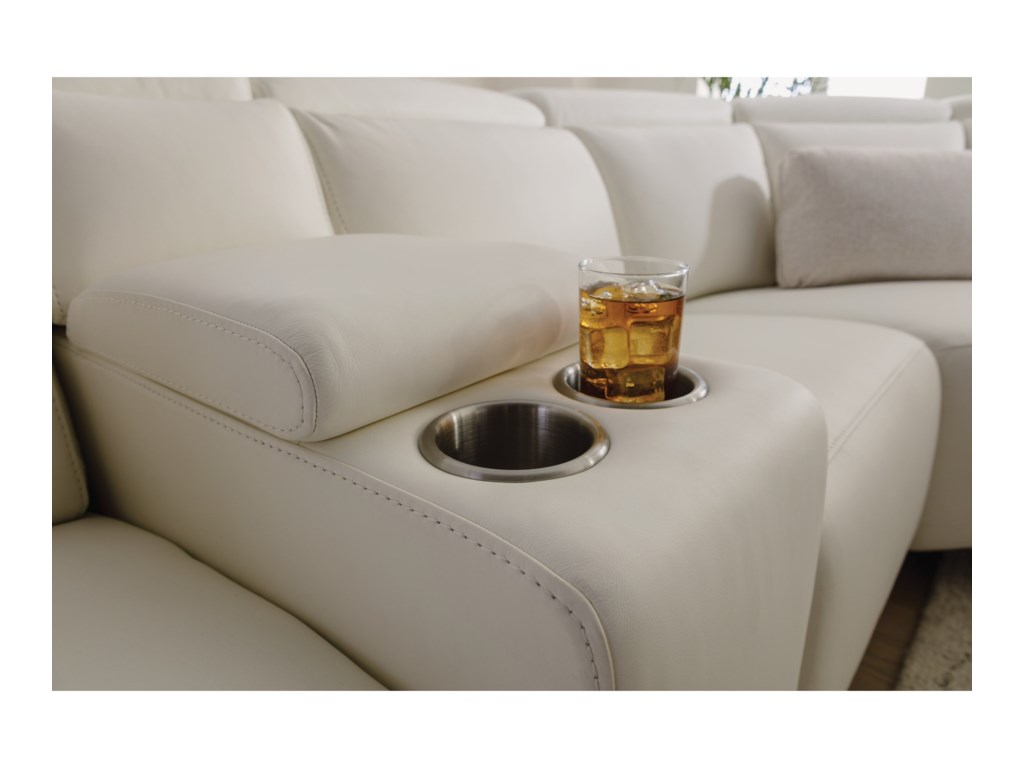 Flexsteel Latitudes - Astra5 Pc Reclining Sectional Sofa