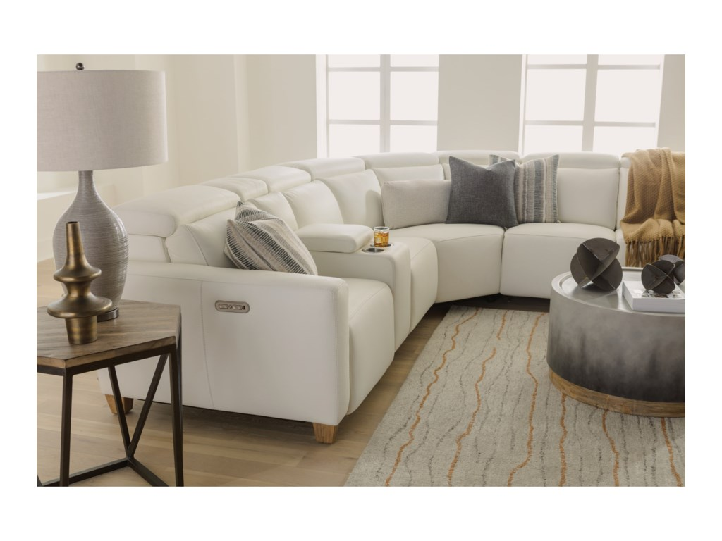 Flexsteel Latitudes - Astra7 Pc Reclining Sectional