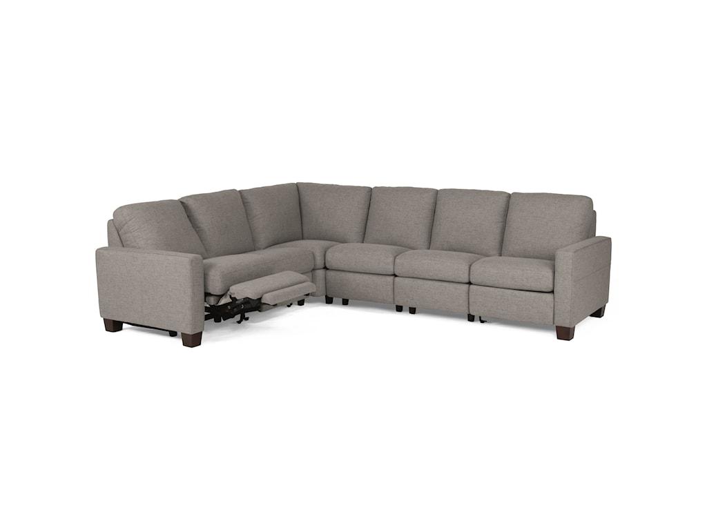 Flexsteel Latitudes - BrittonPower Reclining Sectional Sofa