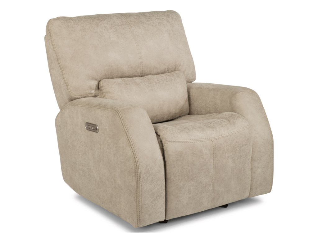 Flexsteel Latitudes - CooperPower Gliding Recliner with Power Headrest