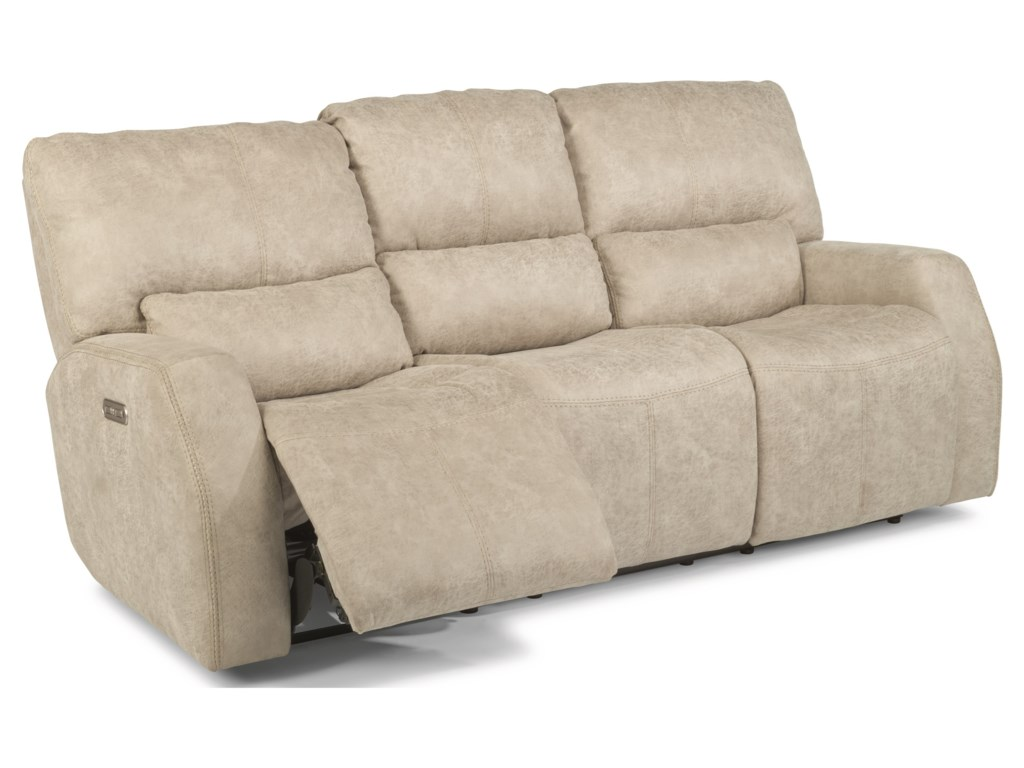 Flexsteel Latitudes - CooperPower Reclining Sofa