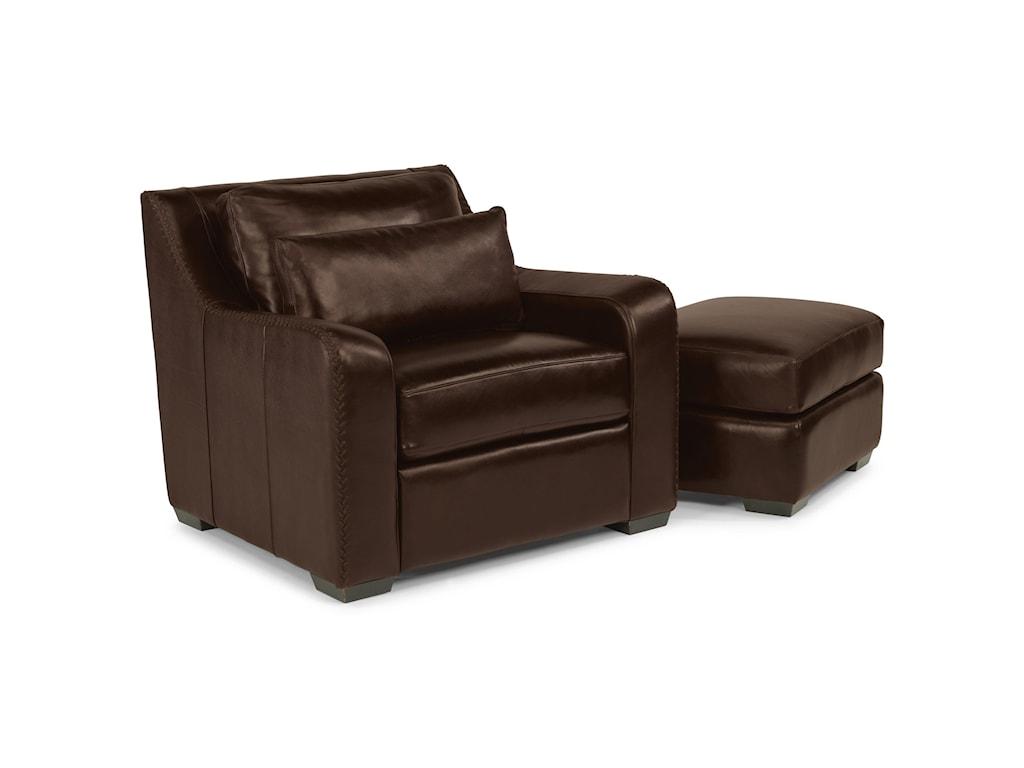 Flexsteel Latitudes - CrimsonUpholstered Chair