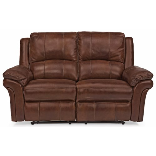 Flexsteel Latitudes - Dandridge Casual Power Reclining Loveseat