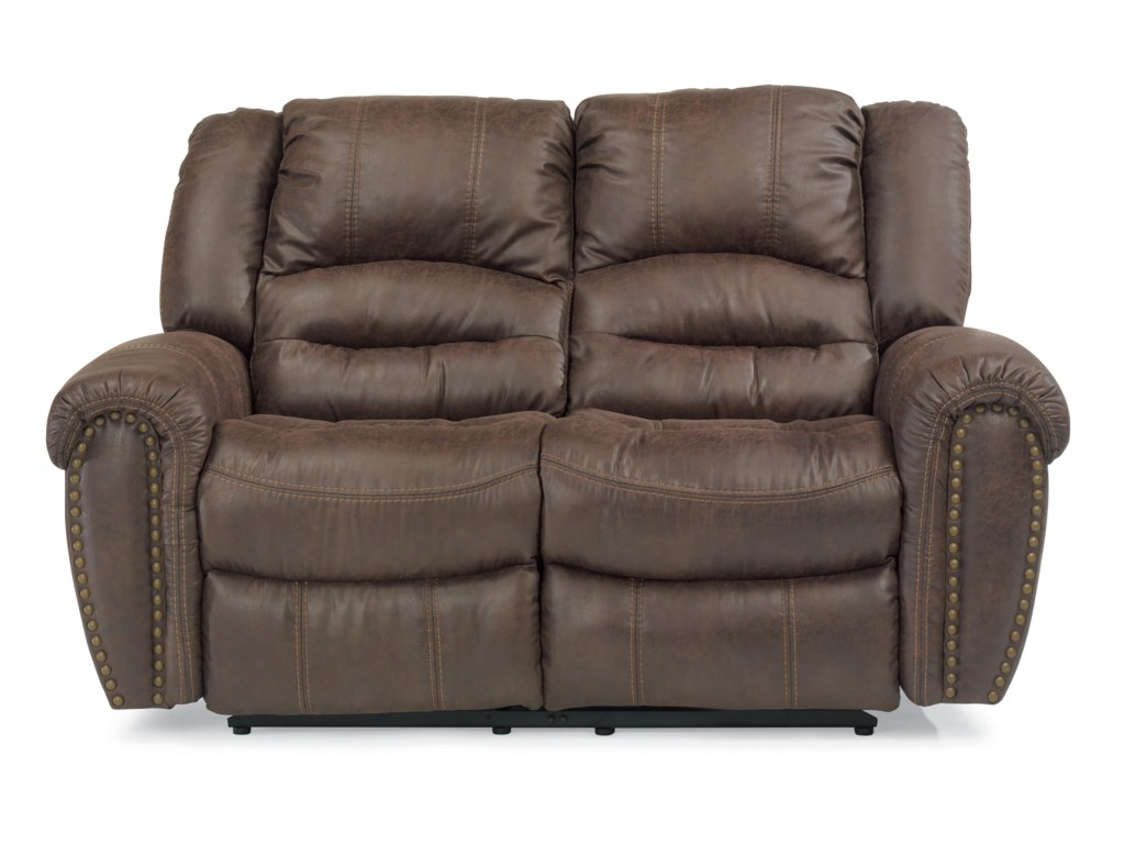 Flexsteel Latitudes - DowntownReclining Love Seat