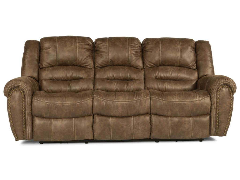 Flexsteel Latitudes - DowntownReclining Sofa
