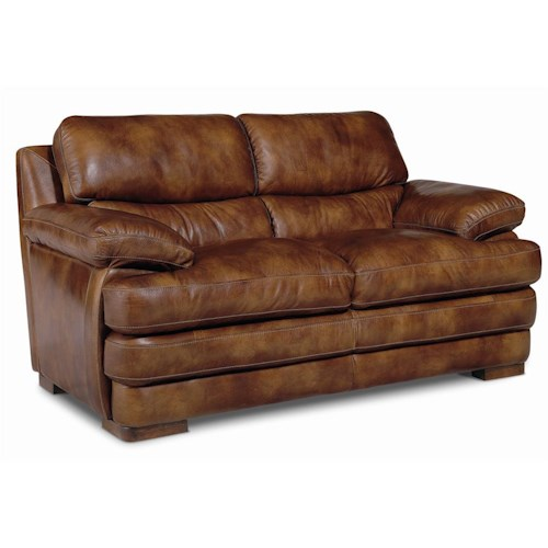 Flexsteel Latitudes - Dylan Leather Love Seat