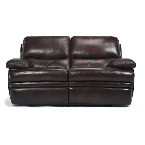 Flexsteel Latitudes - Dylan Leather Reclining Love Seat