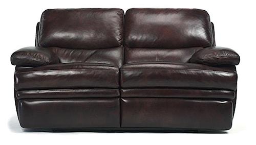 Flexsteel Latitudes - Dylan Leather Reclining Love Seat