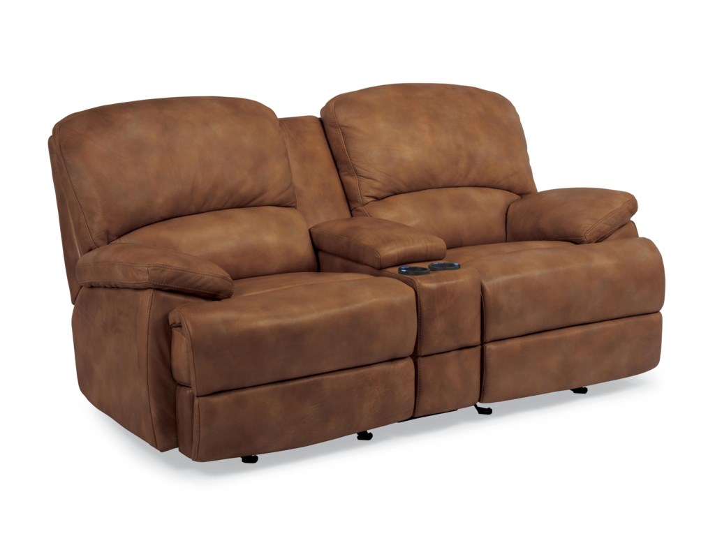 Flexsteel Latitudes - DylanPower Motion Loveseat