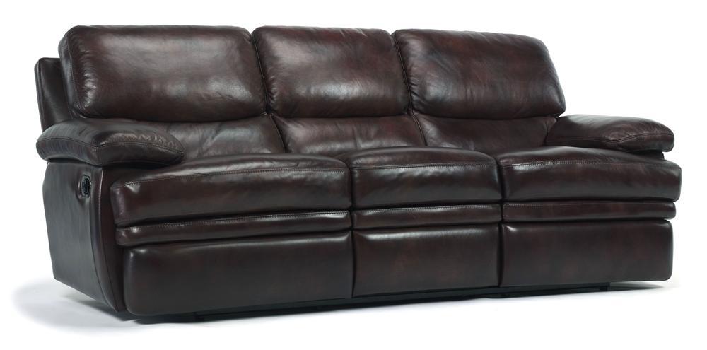 flexsteel latitudes dylan leather reclining sofa belfort rh belfortfurniture com
