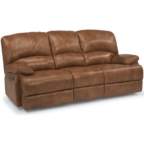 Flexsteel Laudes Dylan Three Seat Reclining Sofa