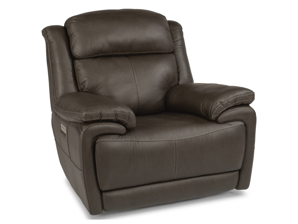 Flexsteel Latitudes - ElijahPower Recliner with Power Headrest