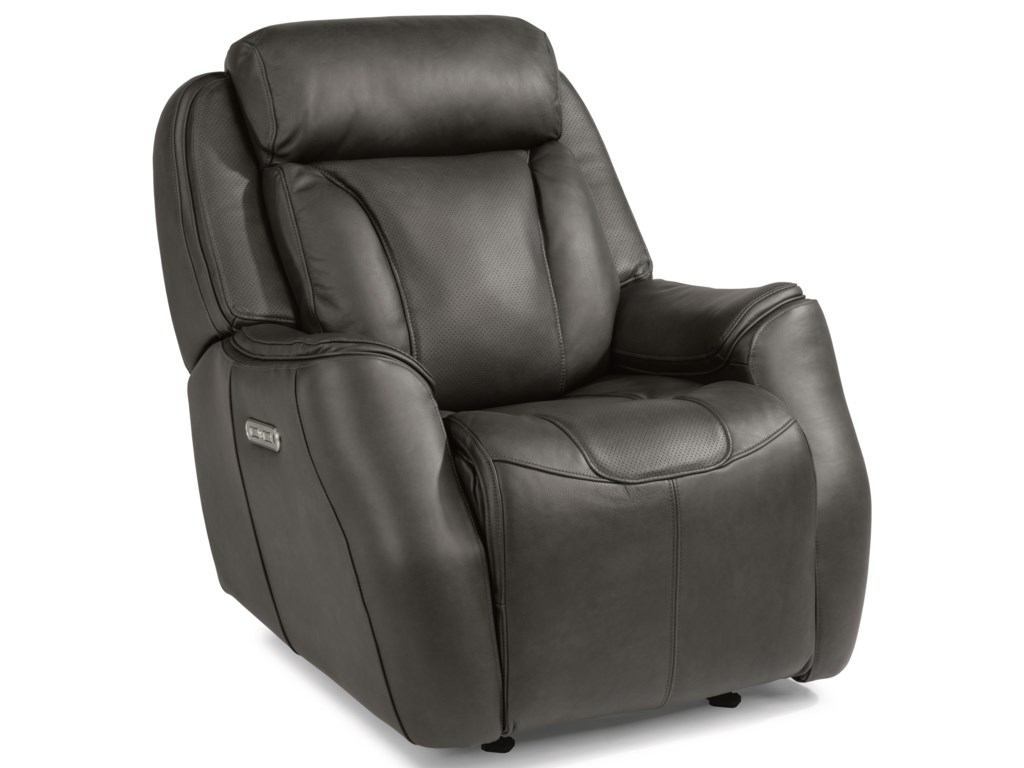 Flexsteel Latitudes - FelixPower Gliding Recliner with Power Headrest