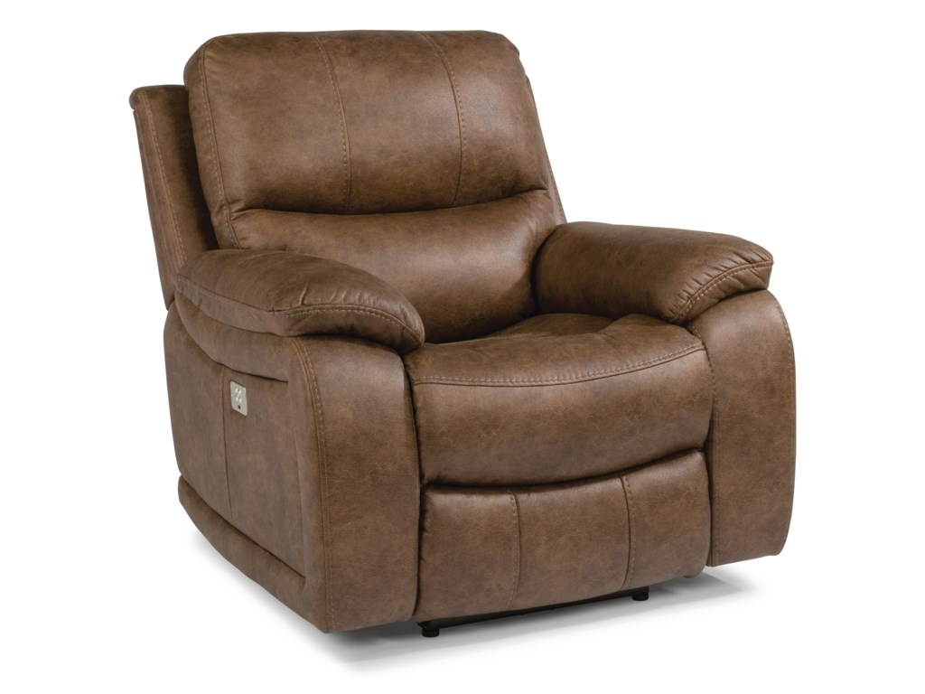 Flexsteel Latitudes - HendrixPower Recliner with Power Headrest