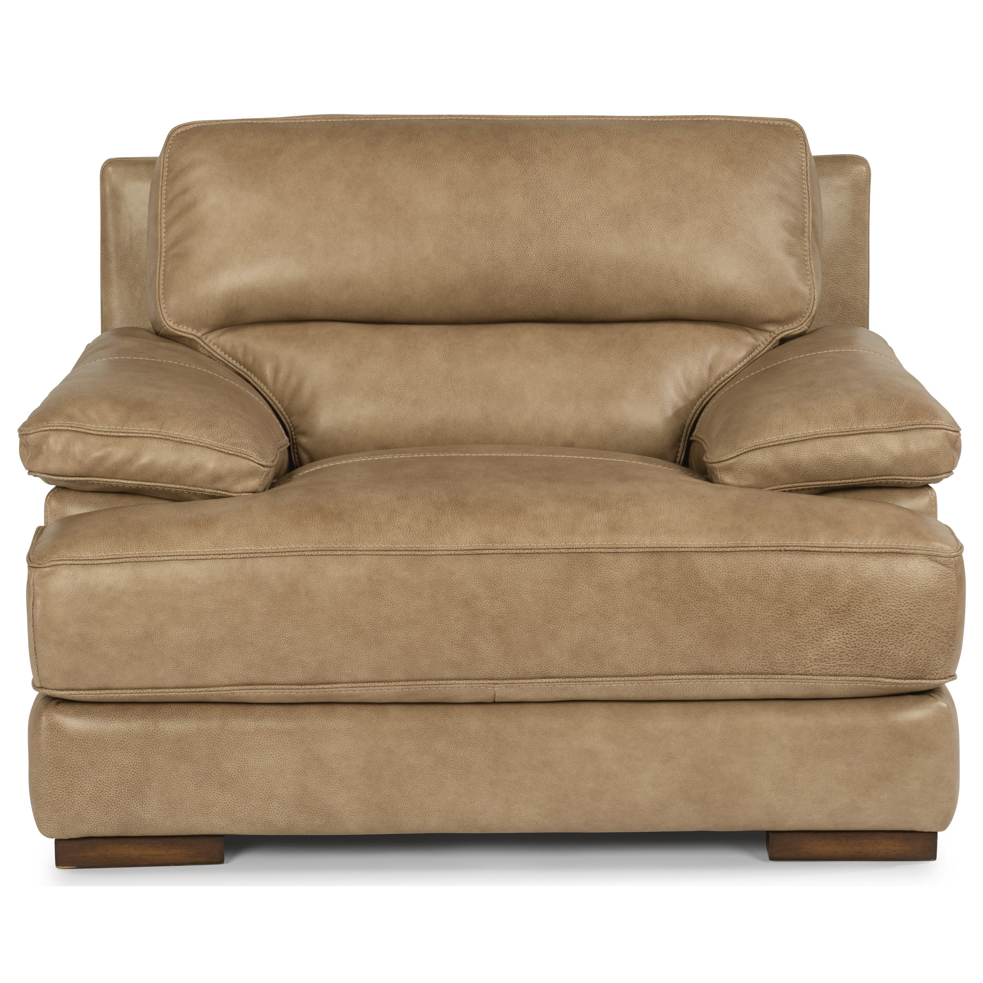 Attrayant Flexsteel Latitudes   JadeLeather Chair ...