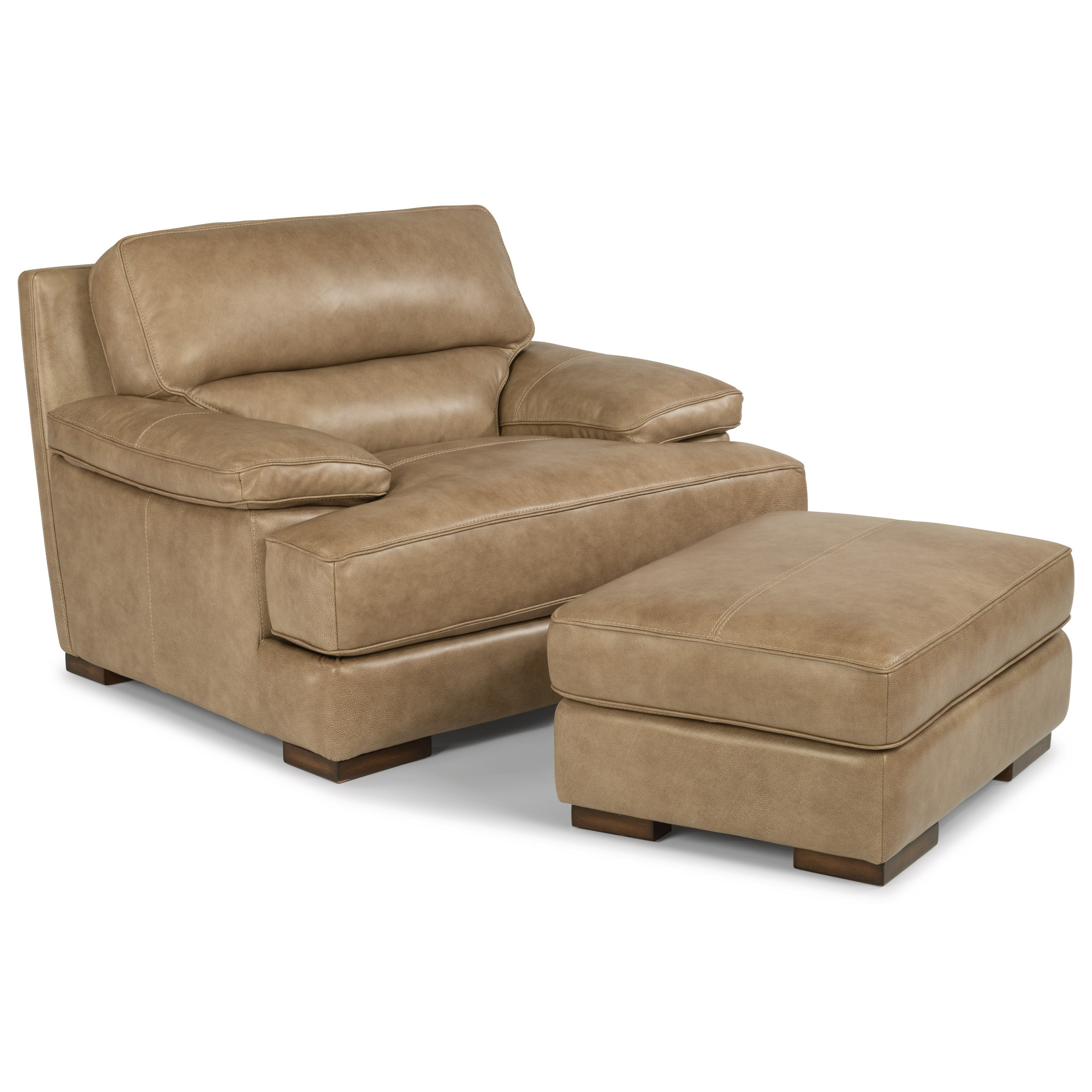 ... Flexsteel Latitudes   JadeLeather Chair