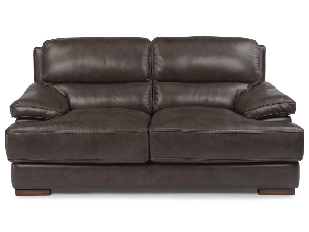 Flexsteel Latitudes - JadeLeather Love Seat