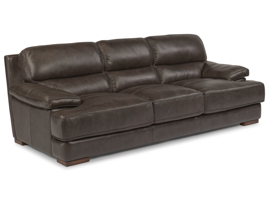 Flexsteel Latitudes - JadeLeather Sofa