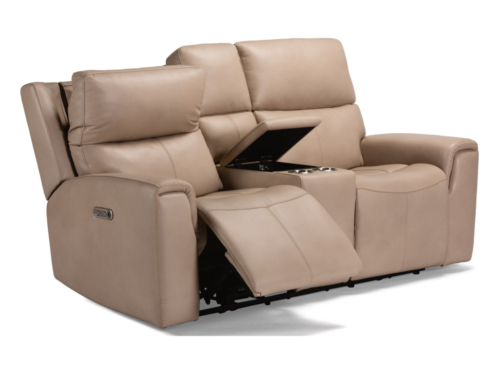 Flexsteel Latitudes - JarvisPower Reclining Loveseat