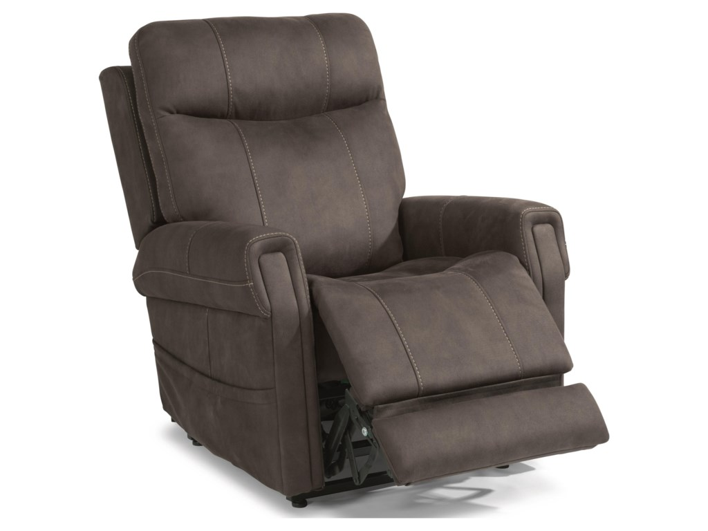 Flexsteel Latitudes - JenkinsPower Lift Recliner with Right-Hand Control