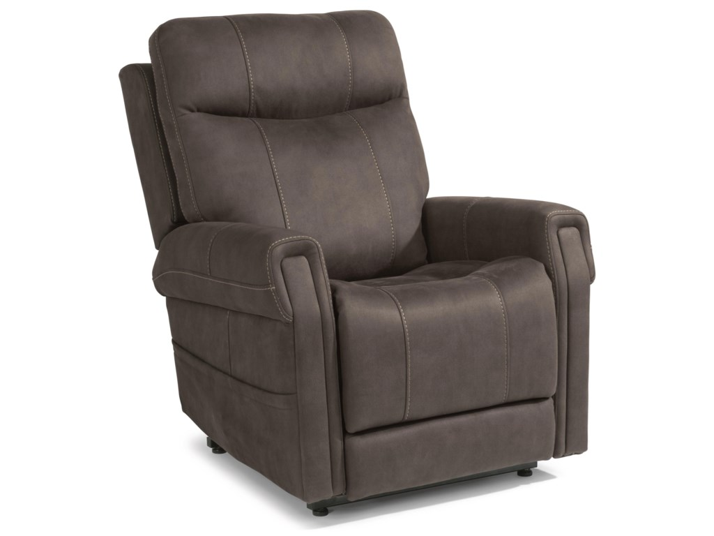 Flexsteel Latitudes - JenkinsPower Lift Recliner with Power Headrest