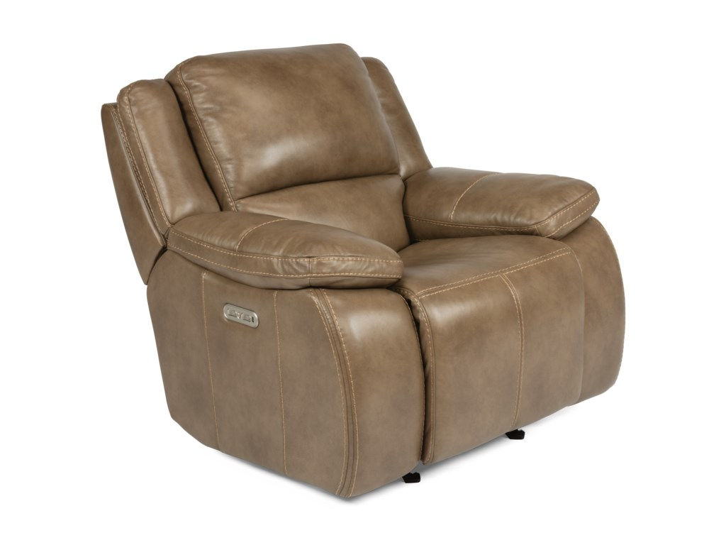 Flexsteel RavenPower Headrest Gliding Recliner