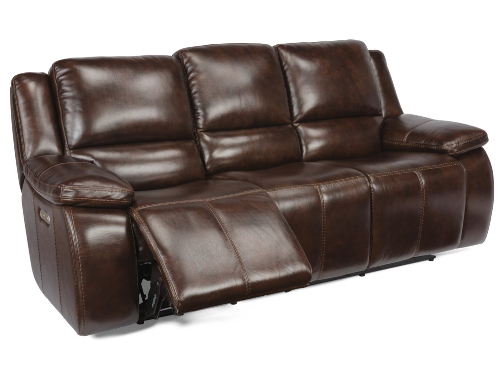 Flexsteel RavenPower Headrest Reclining Sofa