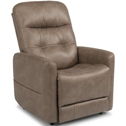 Flexsteel Latitudes - Kenner Power Lift Recliner with Right Side Hand Control