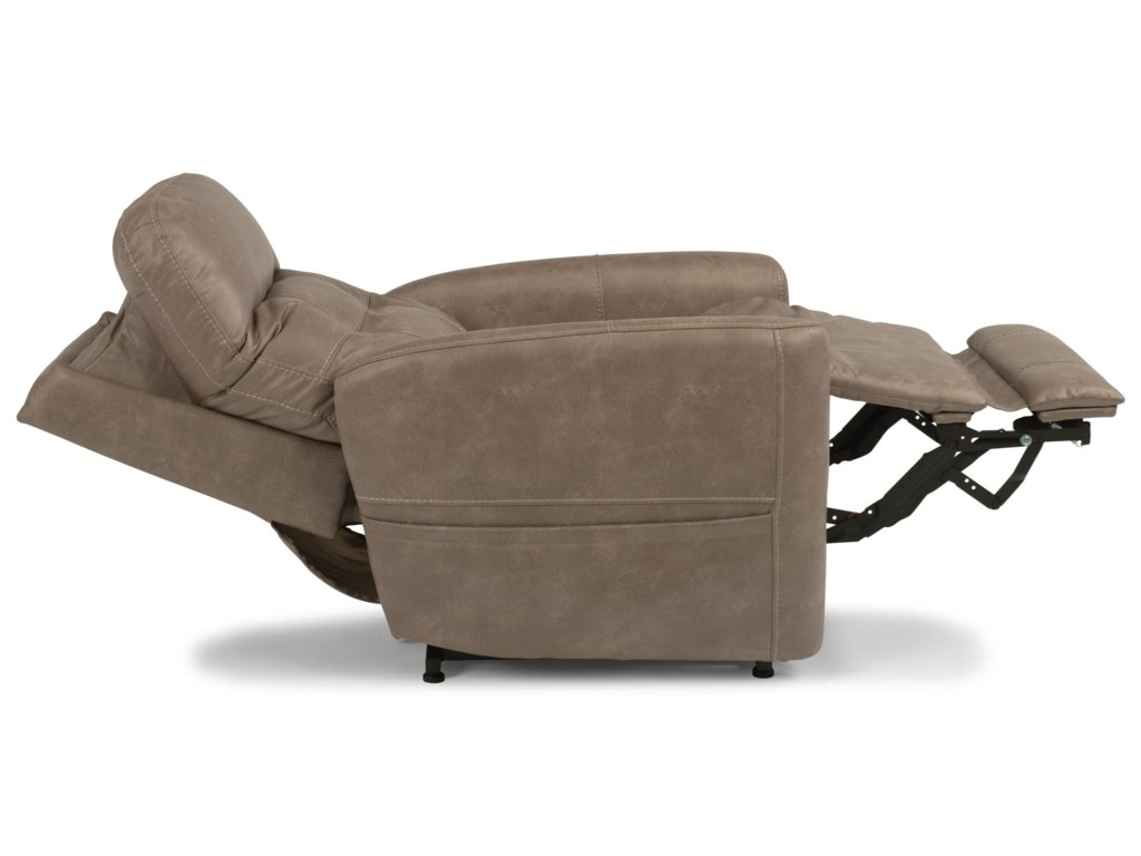 Flexsteel Latitudes - KennerPower Lift Recliner with Power Headrest