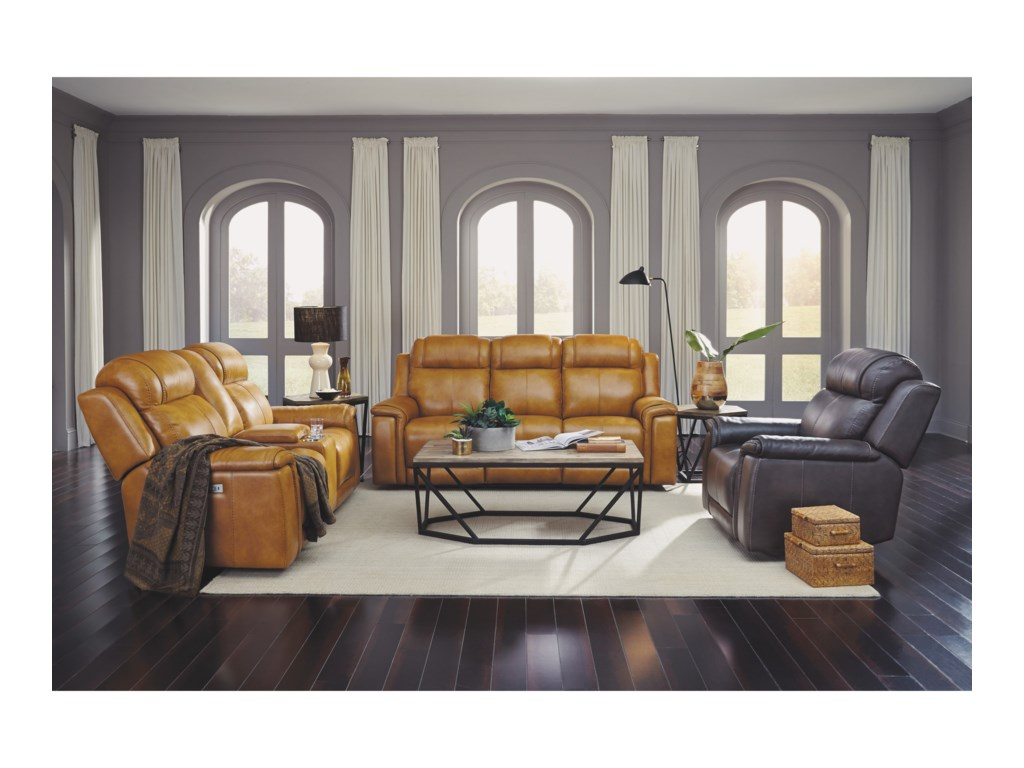 Flexsteel Latitudes - KingsleyPower Reclining Living Room Group