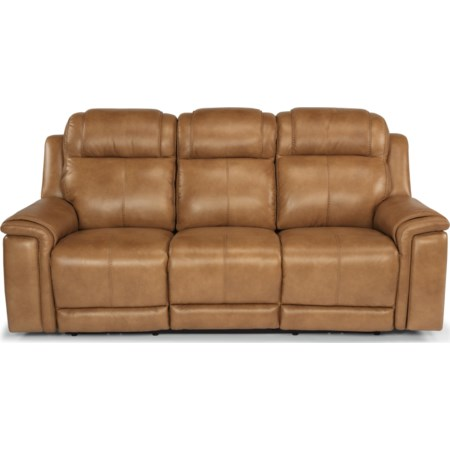 Lay-Flat Power Reclining Sofa