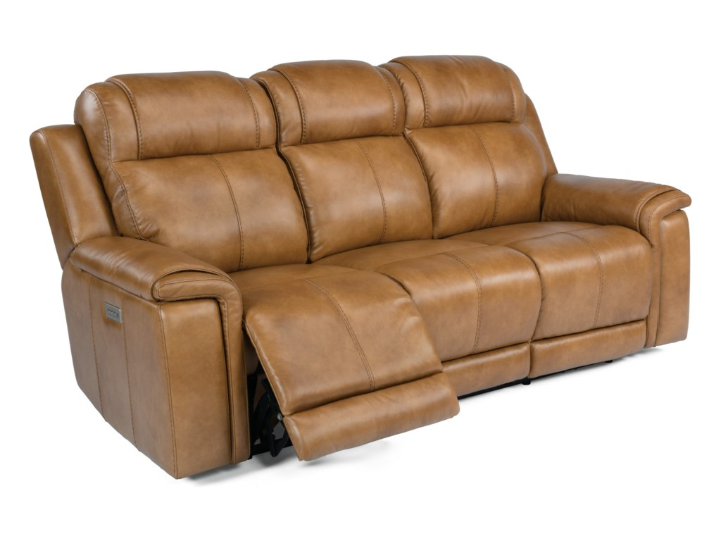 Flexsteel Latitudes - KingsleyLay-Flat Power Reclining Sofa