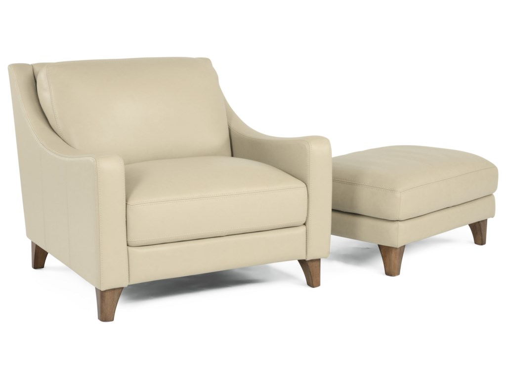 Flexsteel Latitudes - MelroseChair and Ottoman Set