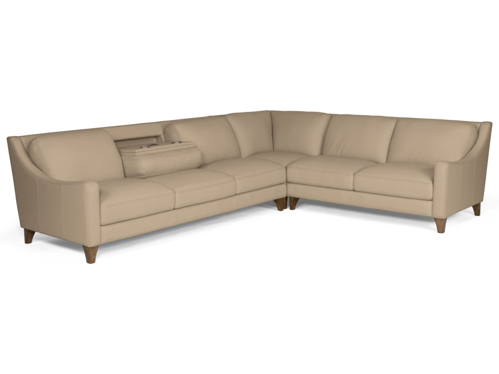 Flexsteel Latitudes - MelroseSectional Sofa