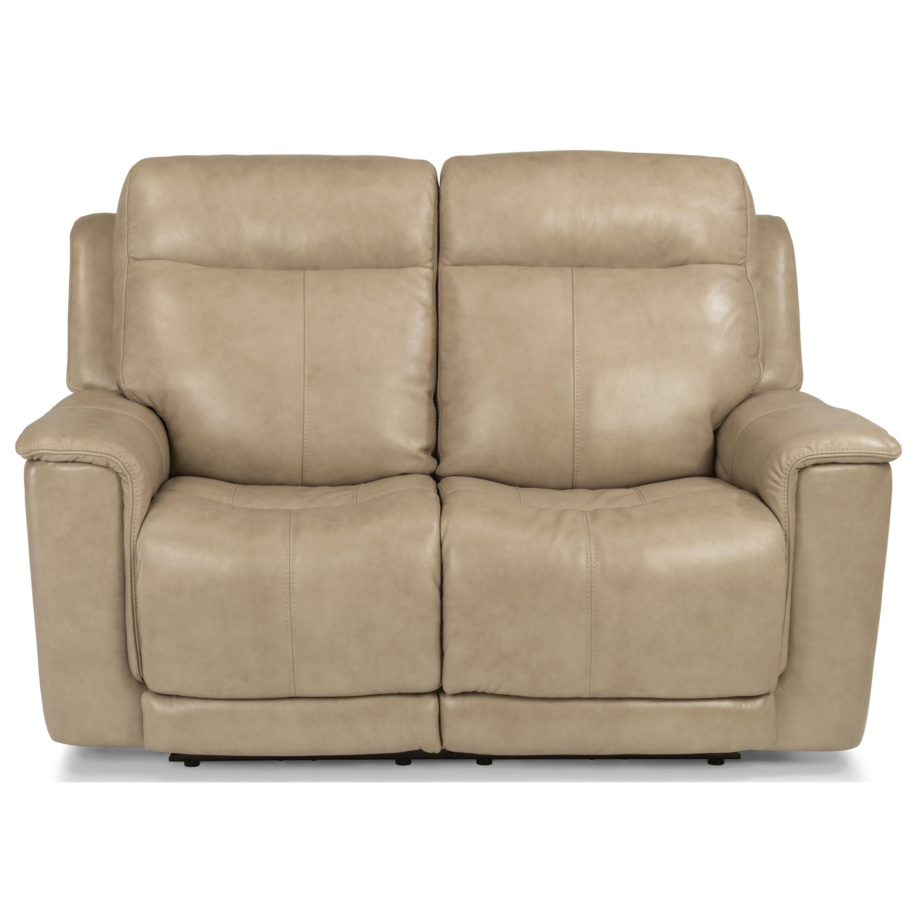 Flexsteel Latitudes   MillerPower Reclining Love Seat ...