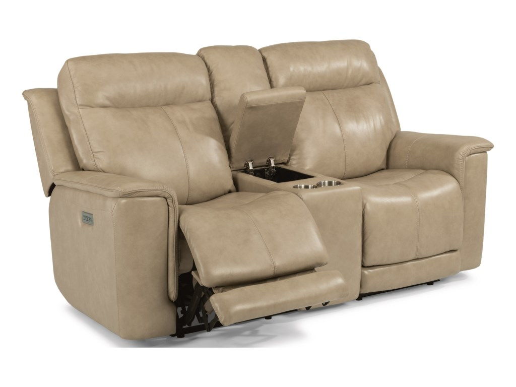 Flexsteel ClayPower Reclining Loveseat