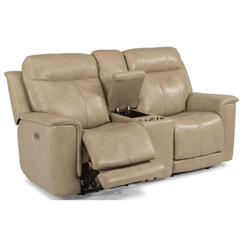 Style Of Flexsteel Latitudes Miller Power Reclining Loveseat with Power Headrests and Adjustable Lumbar Ideas - Latest leather reclining sofa and loveseat Simple Elegant
