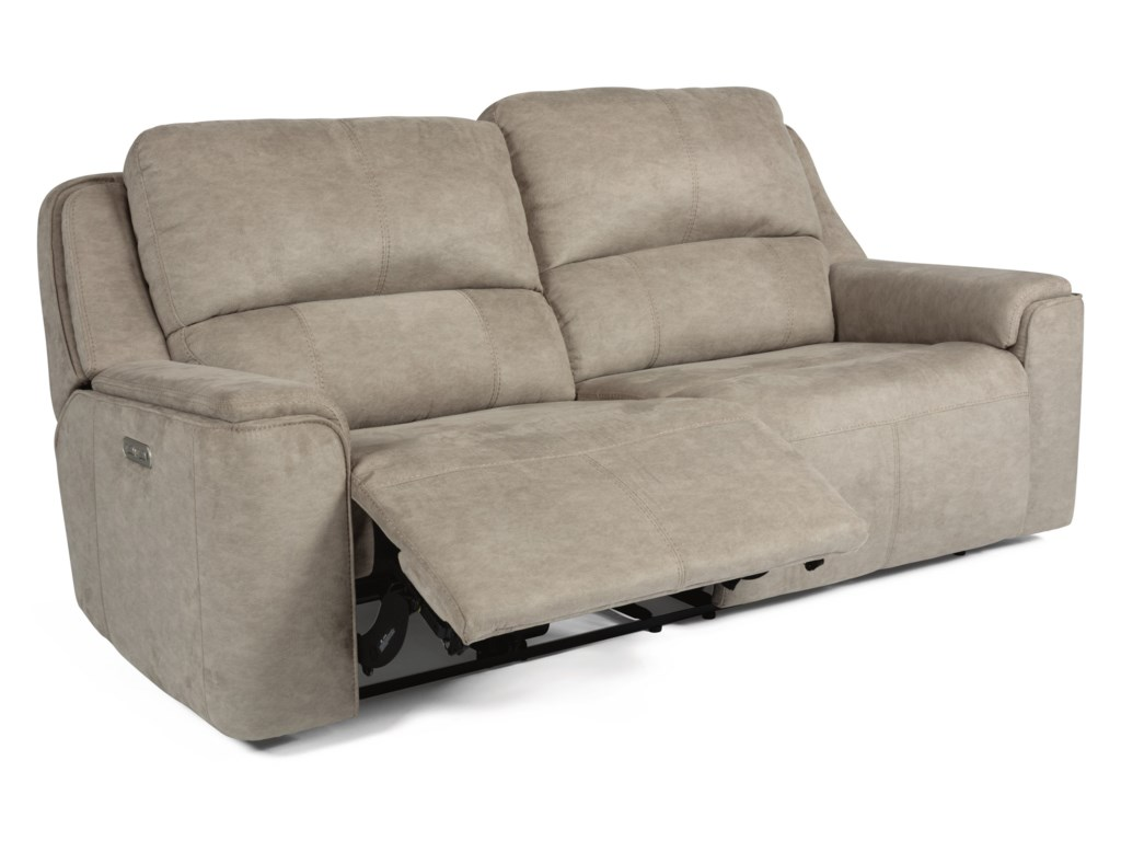 Flexsteel Latitudes - MiloPower Reclining Sofa