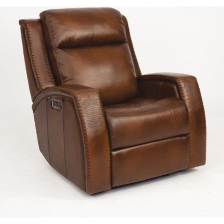 Power Gliding Recliner w/ Pwr Headrest