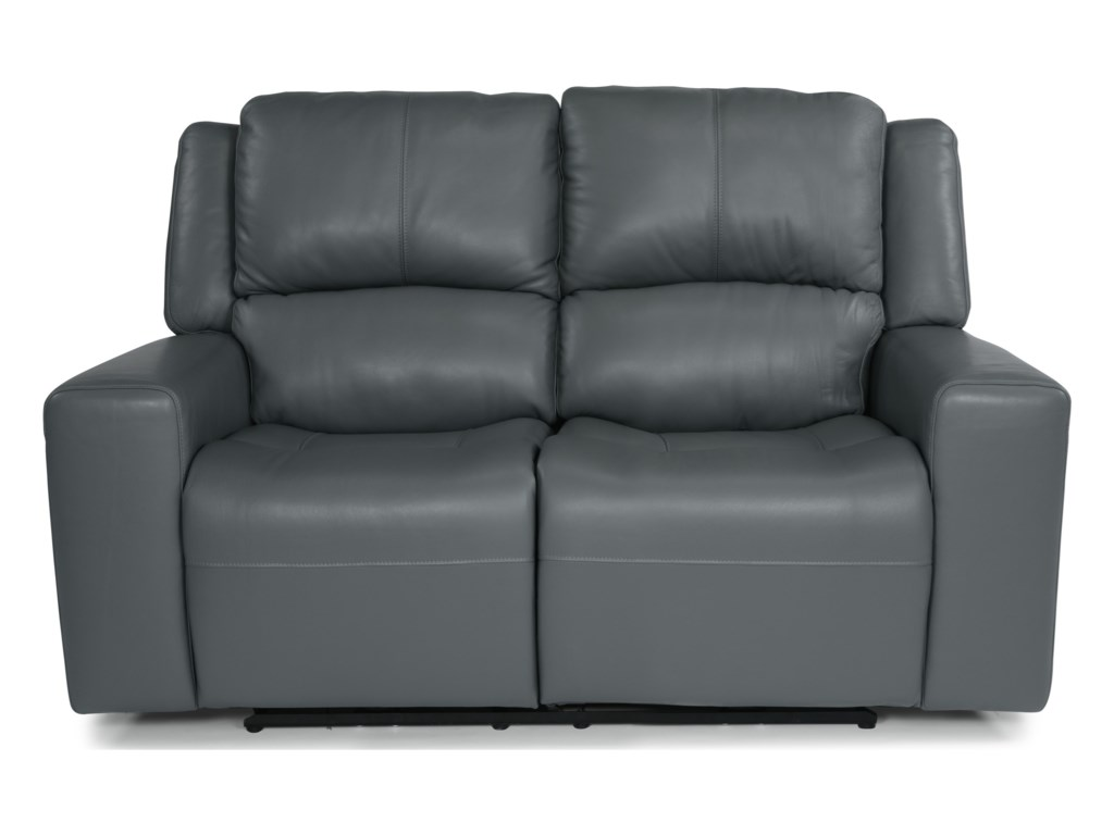 Flexsteel Latitudes - NelsonPower Reclining Loveseat